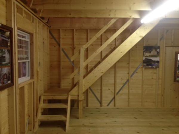 Hi Loft Porch Barn Style
