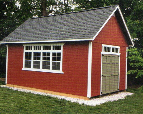 Garden Sheds Ohio millers storage barns - home